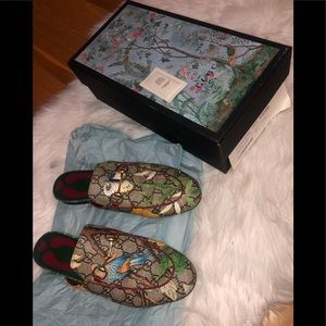 🦋🌿GUCCI TIAN PRINCETOWN SLIPPERS🌿🦋